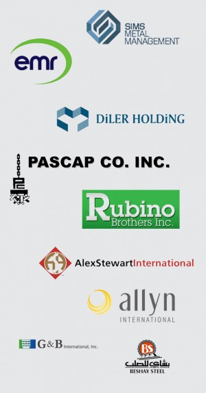 Sims Mental Management, EMR, DiLER Holding, Pascap, Rubino Brothers, AlexSteward, Allyn, G&B, Beshay Steel